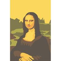 (DIY-10cmX15cm)교과서속 명화그리기 다빈치(모나리자)1241