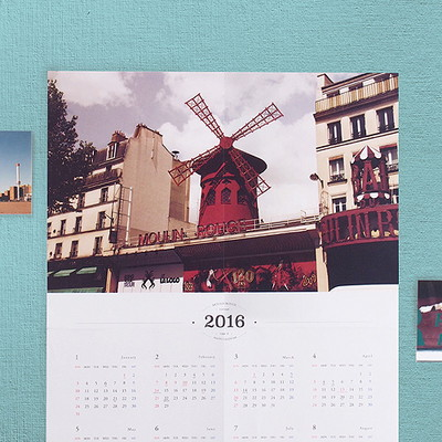2016 Vintage Photo Calendar