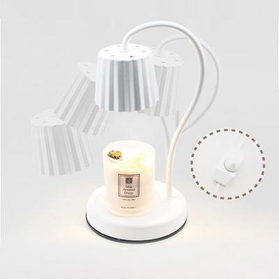 더아로마샵 높낮이 빛 조절 가능 캔들워머세트