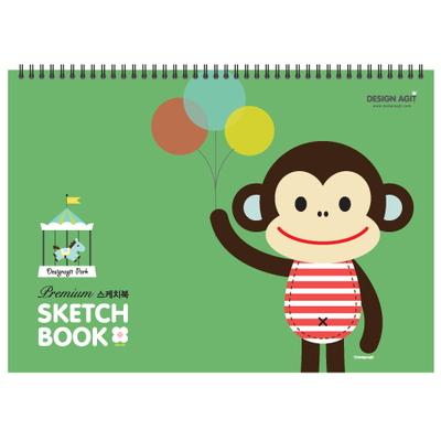 [기성]Premium스케치북 22매뭉치 그린