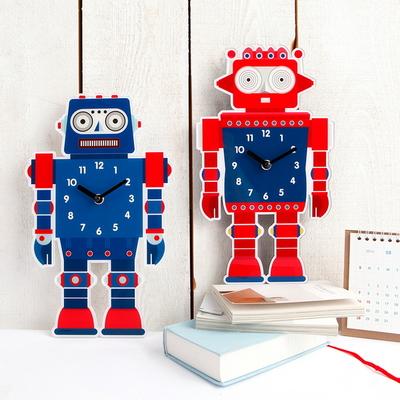 기성 벽시계모양로봇