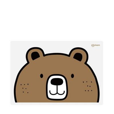 실리만 실리콘 어린이 식탁매트(곰) WSB264