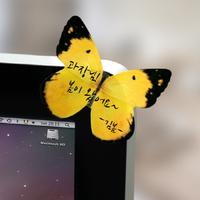 나비 점착메모지 (Large)