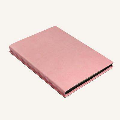 시그니처 듀오 노트북 (A5, Pink Black)