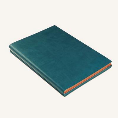 시그니처 듀오 노트북 (A5, Green Orange)