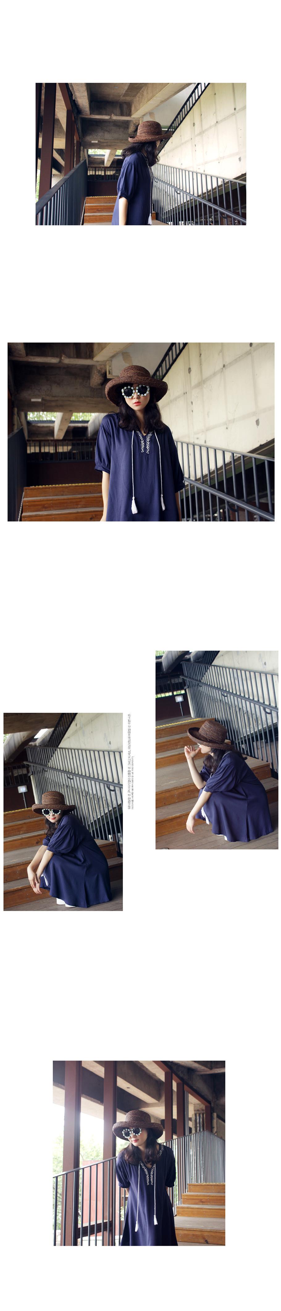 태슬 자수 원피스-파라란 - 앞머리, 43,900원, 원피스, 미니원피스