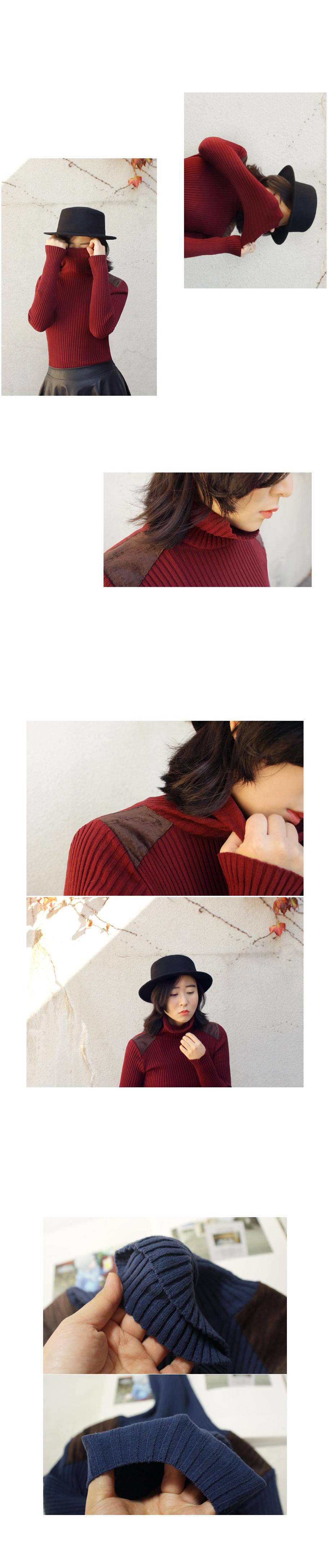 골지 폴라티n94 - 앞머리, 39,500원, 상의, 긴팔티셔츠
