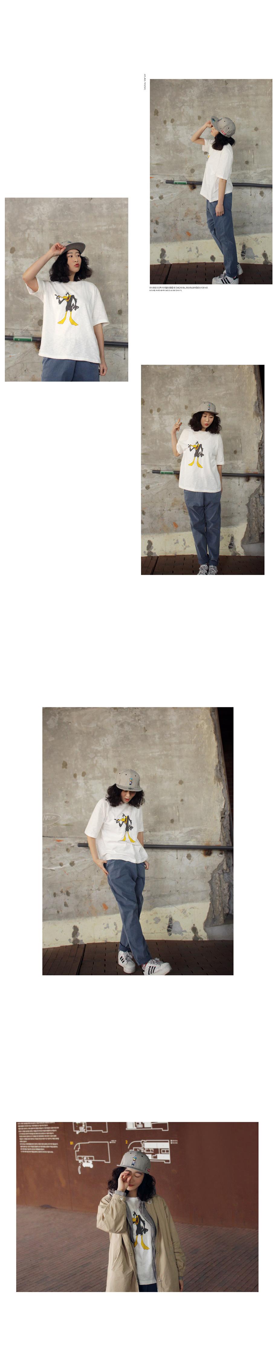워싱 반팔 티셔츠2 - 앞머리, 19,900원, 상의, 반팔티셔츠