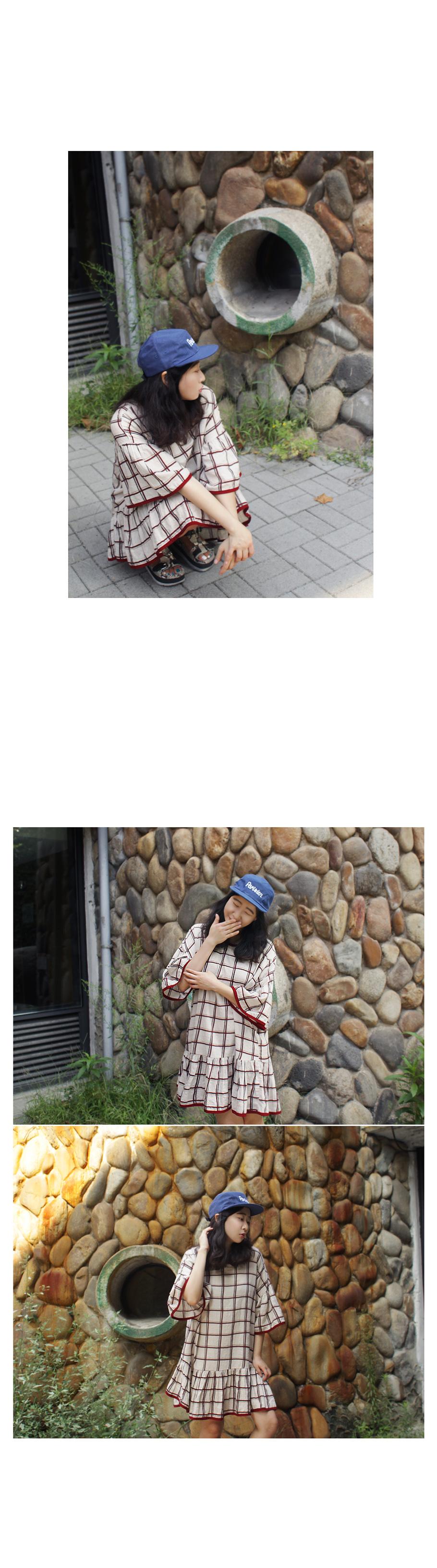 체크 원피스n019 - 앞머리, 41,500원, 원피스, 미니원피스