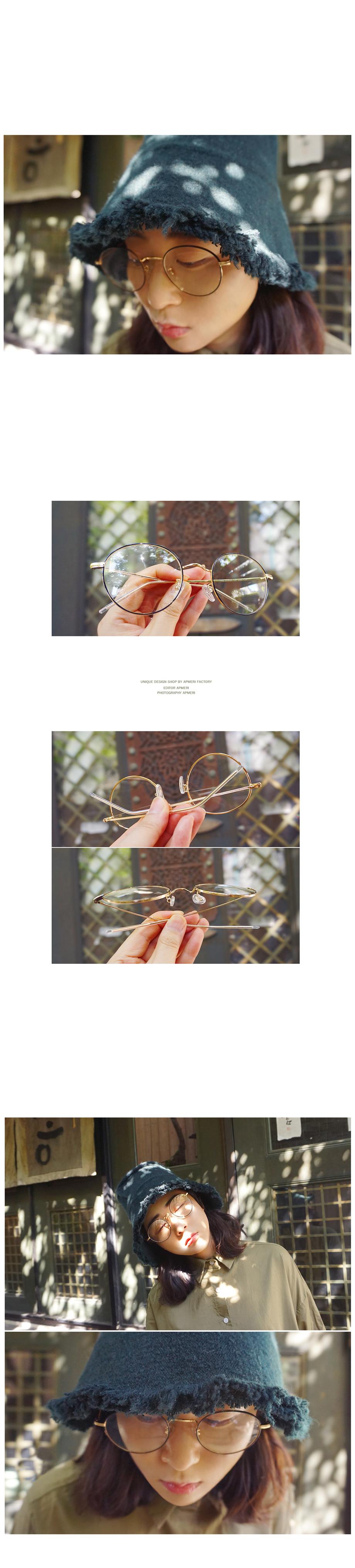 메탈 블랙앤 골드 안경n910 - 앞머리, 18,000원, 아이웨어, 안경프레임