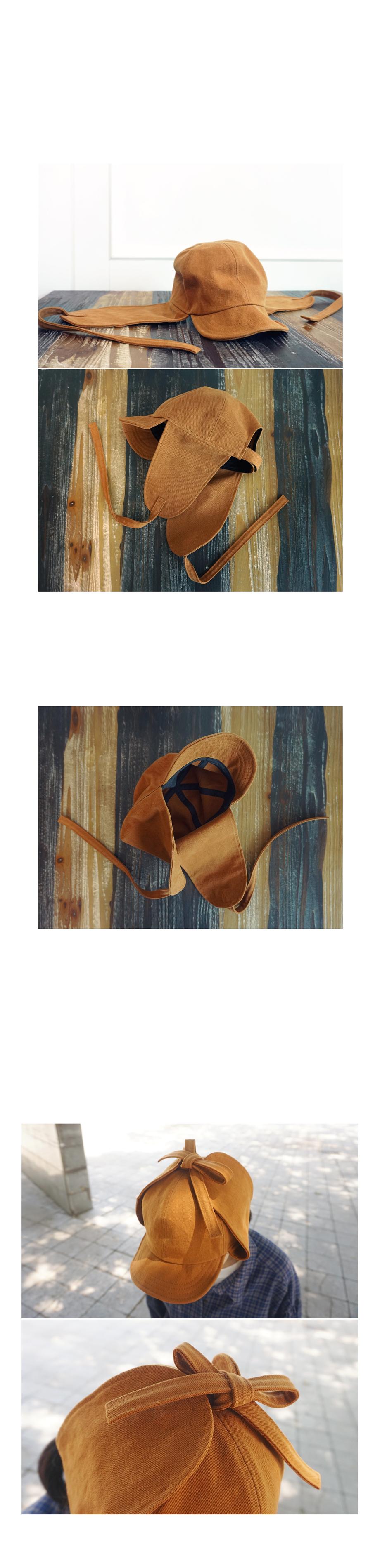봄코튼면 귀달이벙거지캡모자 - 앞머리, 26,500원, 모자, 버킷햇