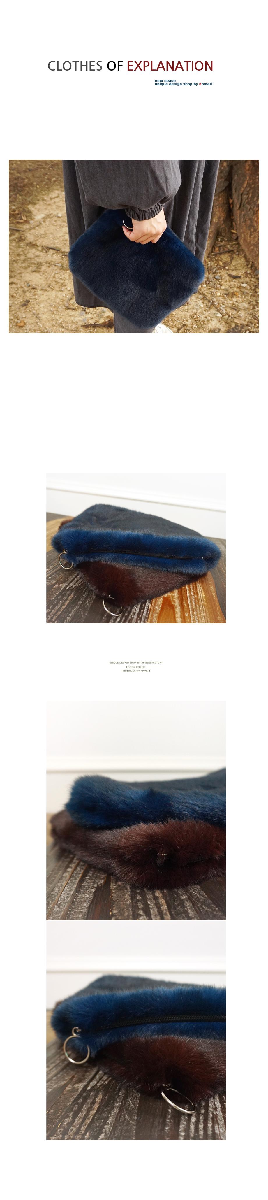 도톰 에코퍼 클러치백 - 앞머리, 45,500원, 클러치백, 인조가죽클러치백