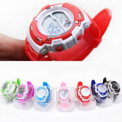 러블리 디지털 손목시계