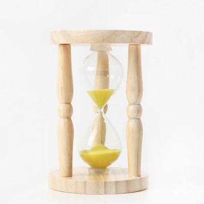 원목 모래시계 5분