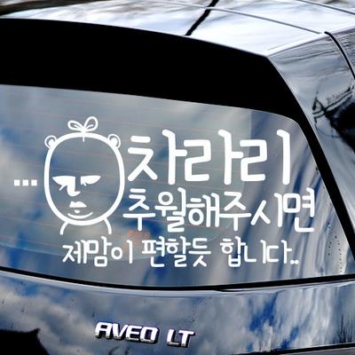 차라리추월 - 초보운전스티커(549)