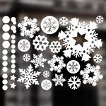 눈꽃 스티커 - 크리스마스스티커(005)