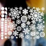 눈꽃 스티커 - 크리스마스스티커(009)