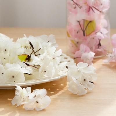 벚꽃봉지(100개입) FAIBFT 조화 꽃 인테리어 장식 봄꽃 잎봉지 셀프 DIY
