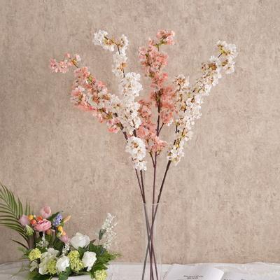 따스한바람향기벚꽃가지 97cm [조화]