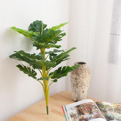 뉴몬스잎부쉬 70cm [조화]