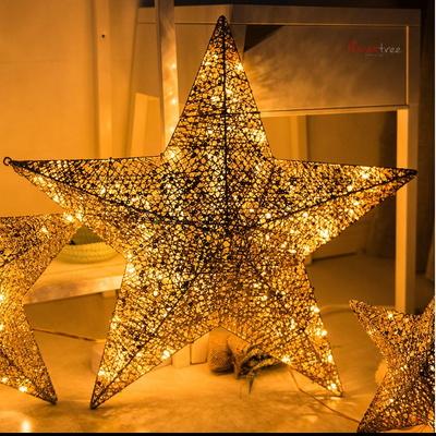 니켈별 60cm 전구 트리 크리스마스 캠핑 TRLEDB