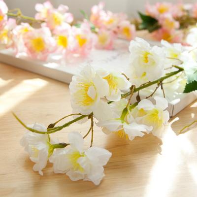 스프링벚꽃가지 126cm [조화]
