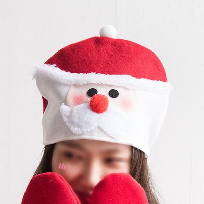 어린이큐티모자30cm 트리 산타모자 크리스마스 TROMCG