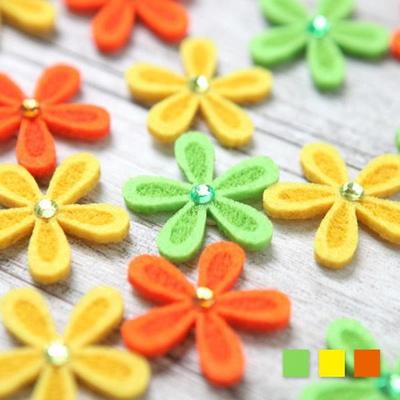 부직포 꽃잎 (10개입)