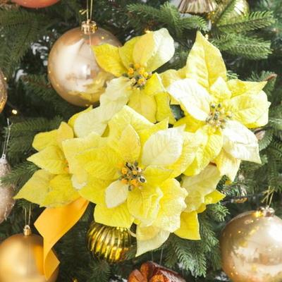 에찌포인꽃부쉬 대 60cm 조화 크리스마스 장식 TRFART