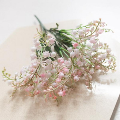 은방울꽃부쉬 32cm [조화]