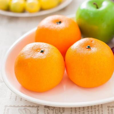 귤 FOFDFT 모형 모조 과일 채소 소품 주방장식