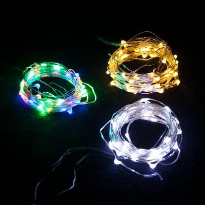 LED 5~50P 건전지용 드럼전구 투명선 전구 TRLEDB