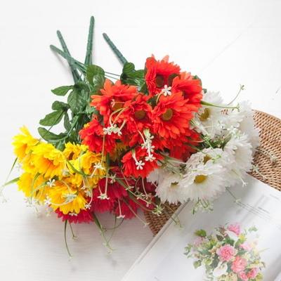 13대거베라부쉬 45cm 조화 성묘 꽃 인테리어 FAGAFT