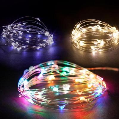 LED 30P 건전지용 드럼전구 투명선 트리 소품 TRDELB