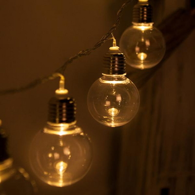 LED 전구캡 백열전구 투명 50mm(2PCS) 전구캡 TRLECV