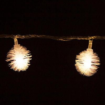 LED 전구캡 솜털 3cm(10개입) 트리 전구캡 TRLECV