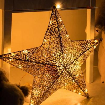 니켈별 45cm 전구 트리 크리스마스 캠핑 TRLEDB