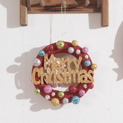 믹스볼레드링15cmP 트리 리스 크리스마스 장식 TROMCG