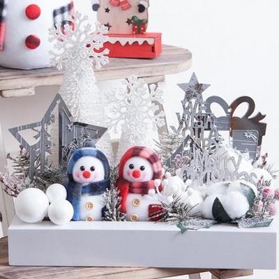 스노우 눈사람 액자 30cmP 트리 크리스마스 TRFAHM
