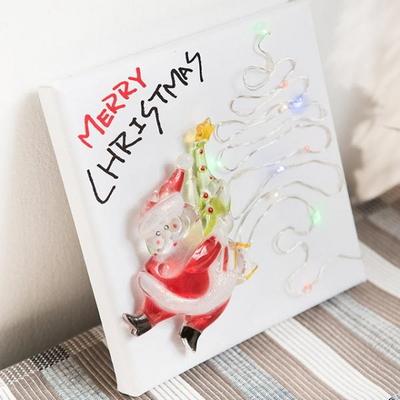 트리 산타 액자 15cmP 트리 크리스마스 TRFAHM