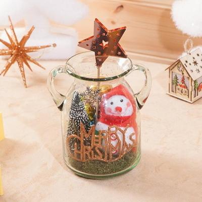 별 눈사람 크리스탈 22cmP 트리 크리스마스 TRFAHM