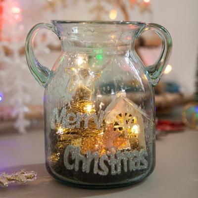 철재 하우스 크리스탈 16cmP 트리 크리스마스 TRFAHM