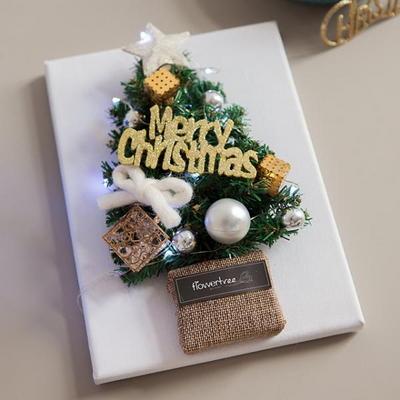 크리스탈 트리액자 24cmP 트리 크리스마스 TRFAHM
