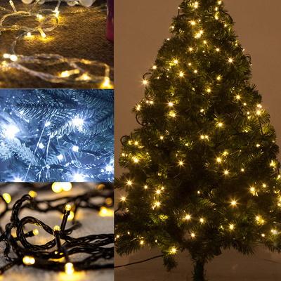겸용LED 100P연결용전구(검정선/투명선/녹색선)크리스마스 트리