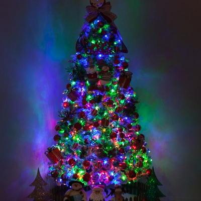 고급 솔방울산타 300cm (단면) 풀세트 크리스마스트리