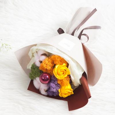 스칸디아믹스꽃다발 34cm P4 FMBBFT 조화 졸업식 선물