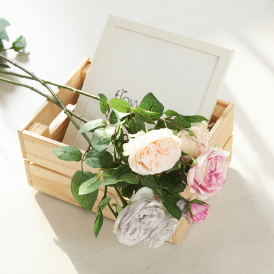 루이스로즈가지o 60cm 조화 꽃 장식 인테리어 FAIAFT