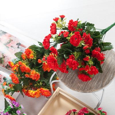 믹스 국화 부쉬o 48cm 조화 꽃 성묘 장식 소품 FAIAFT