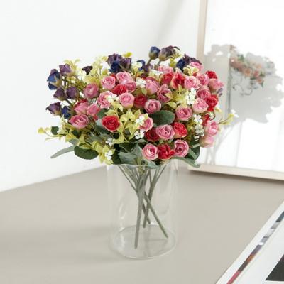 미니플라워부쉬o 30cm 조화 인테리어 장식 꽃 FAIAFT
