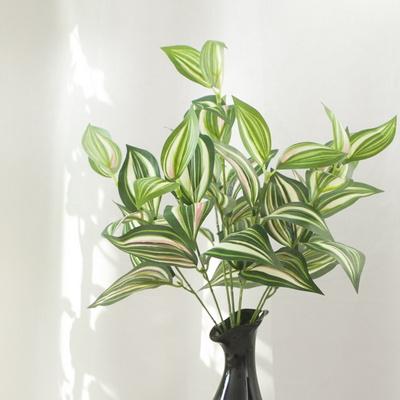 7대잎 달개비 40cm 조화 식물 그린 인테리어 플렌테리어 FAIBFT
